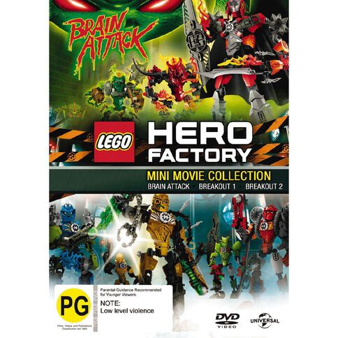 LEGO Hero Factory DVD 1Disc