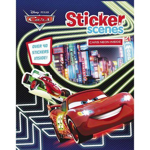 Disney Cars Sticker Scenes