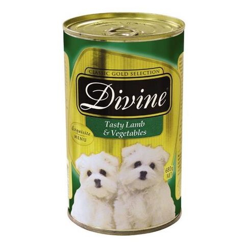 Divine Dog Lamb and Vege 680g