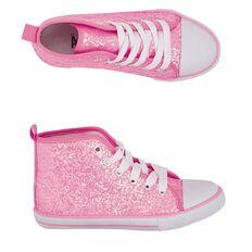 A'nD Kids' Glitter High Canvas Shoes