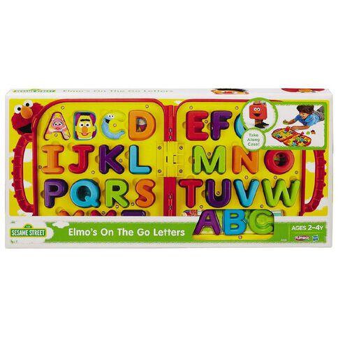 Playskool Sesame St Elmo's on the Go Letters