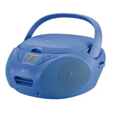Avio CD Boombox Blue