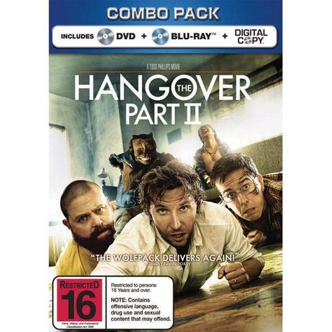 The Hangover 2 Combo Blu-ray 1Disc