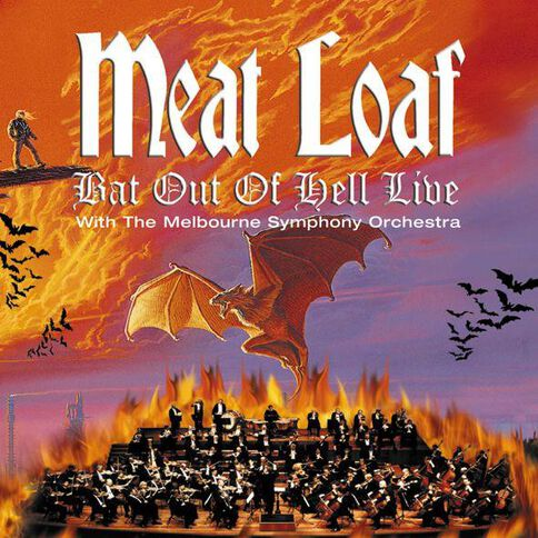 Bat Out of Hell Live CD by Meatloaf 1Disc