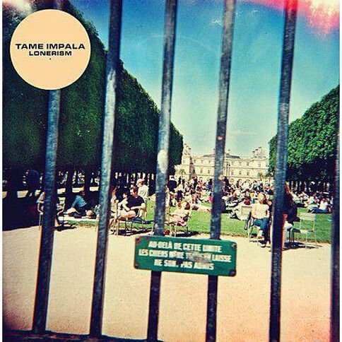Lonerism by Tame Impala CD