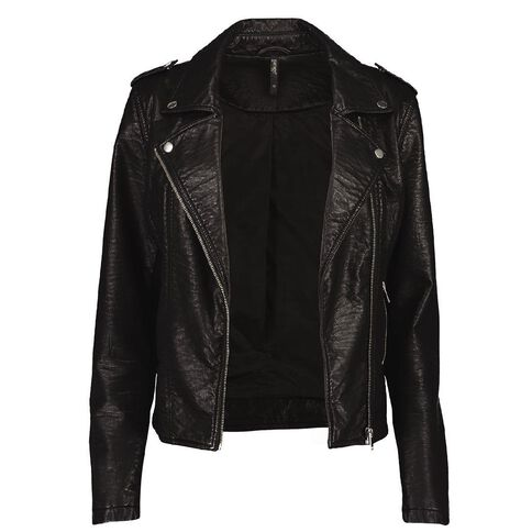 Garage Hammered PU Jacket