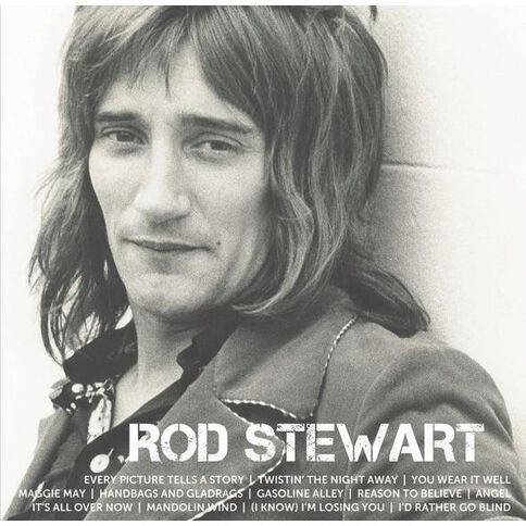Icon CD by Rod Stewart 1Disc