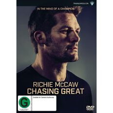 Richie McCaw Chasing Great DVD 1Disc