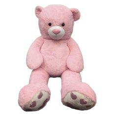 Sabrina Bear Pink 135cm