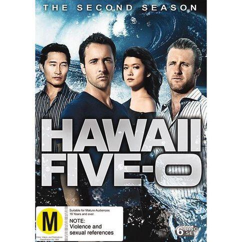 Hawaii Five-O Season 2 DVD 1Disc