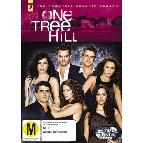 One Tree Hill Season 7 DVD 5Disc