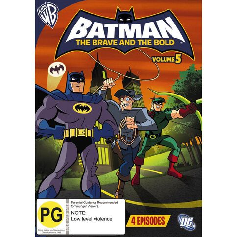 Batman Brave Bold Volume 5 DVD 1Disc
