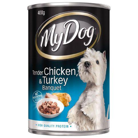 My Dog Tender Chicken & Turkey 400g