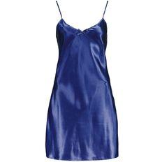 Basics Brand Women's Satin Chemise Nighties 2 Pack