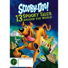 Scooby Doo 13 Spooky Tales Around the World DVD 2Disc