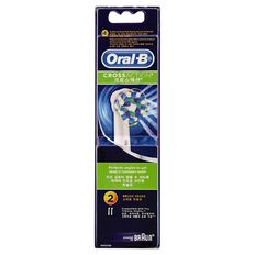 Oral-B Refill Heads Cross-Action 2 Pack