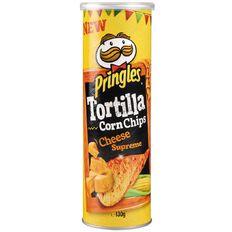 Pringles Tortilla Cheese Supreme 130g