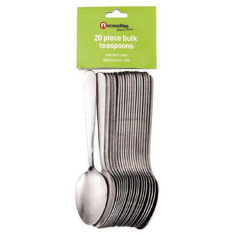 Necessities Brand Bulk Tea Spoon Set 20 Piece