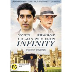 The Man Who Knew Infinity DVD 1Disc