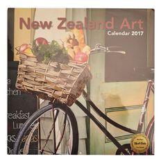 Calendar 2017 Wall New Zealand Art 350mm x 245mm