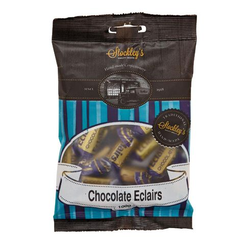 Stockley's Chocolate Eclairs 100g