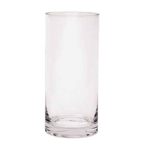 Living & Co Vase Column Clear 20cm