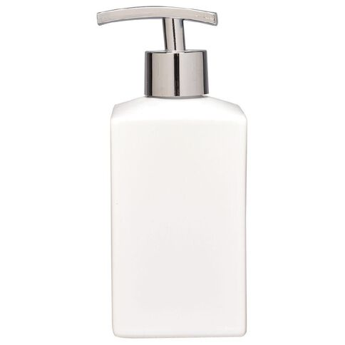 Living & Co Soap Dispenser White