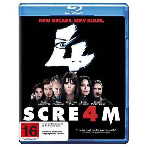 Scream 4 Blu-ray 1Disc