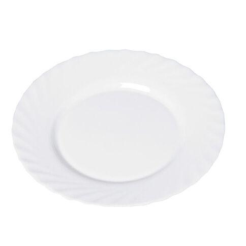 Luminarc Trianon Dinner Plate 24.5cm White