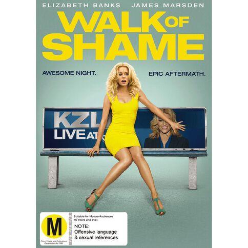 Walk of Shame DVD 1Disc