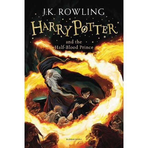 Harry Potter #6 The Half-Blood Prince by JK Rowling