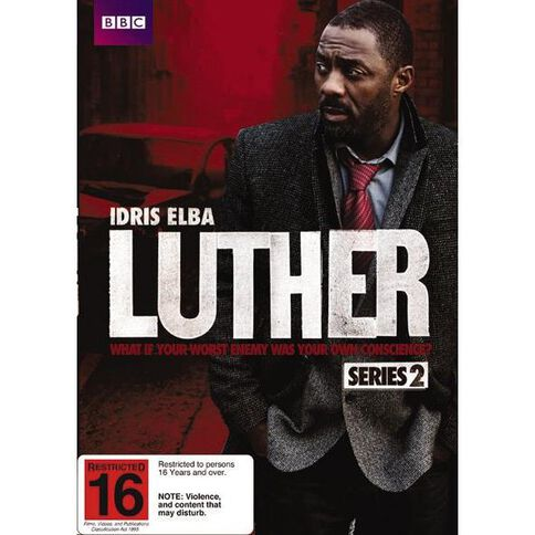 Luther Season 2 DVD 2Disc