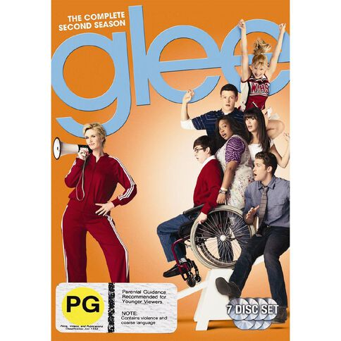 Glee Season 2 DVD 7Disc