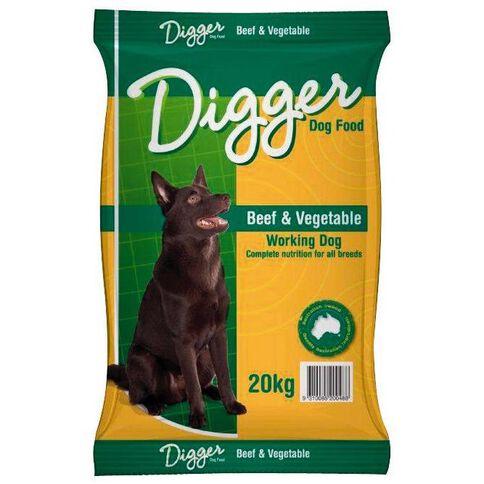 Digger Beef & Vegetables Dry 20kg