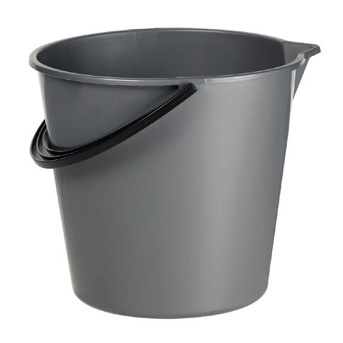 Bucket with Plastic Spout Assorted Colours 9.6L