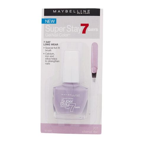 Maybelline Super Stay 7 Day Gel Nail Colour Eternal Lilac