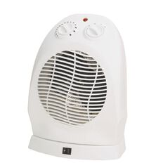 Living & Co Fan Heater Upright Oscillating 2000W