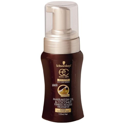 Schwarzkopf Extra Care Marrakesh Mousse Treatment 125ml