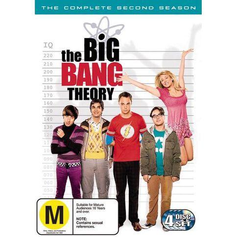 The Big Bang Theory Season 2 DVD 4Disc