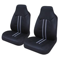 Samson Car Seat Cover Polyester Front Pair High Back