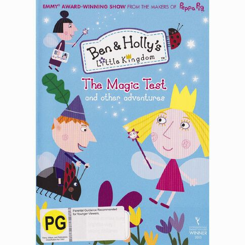 Ben And Holly's Little Kingdom Magic Test DVD 1Disc
