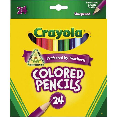 Crayola Coloured Pencils 24 Pack