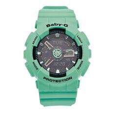 Casio Baby-G Ladies Rubber Quartz Watch BA111-3A