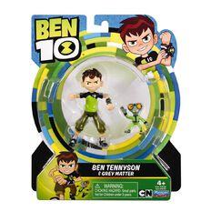 Ben 10 Basic Figure with Collectible Base 12cm Assorted