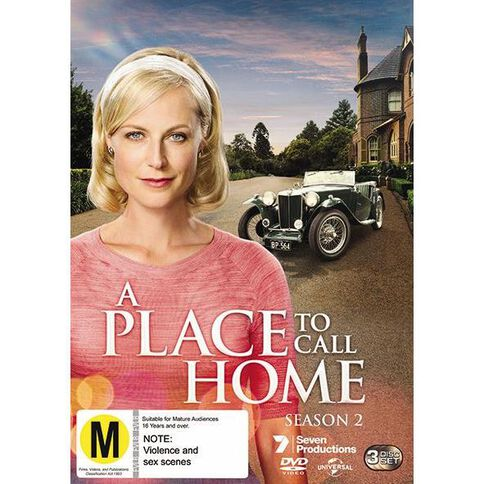 A Place To Call Home Season 2 DVD 3Disc