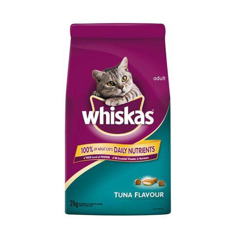 Whiskas Dry Cat Food Tuna Flavour 2kg