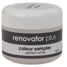 Renovator Plus Test Pot Perfect White 90ml