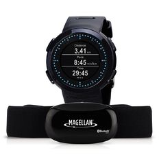 Magellan Echo Fit Running Watch with Heart Rate Monitor Black
