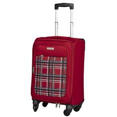 Intrepid Spinner Soft Suitcase Tartan