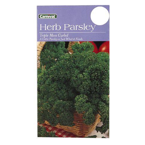 Carnival Seeds Parsley Vegetable